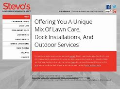 Stevo's Lawn Landscaping Dock & Lift