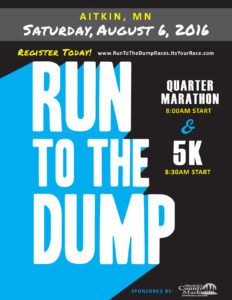 Run to the Dump Poster 2016